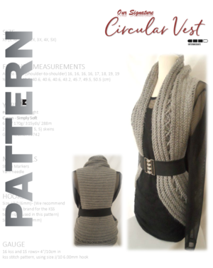 Vest Crochet Pattern By Guchet