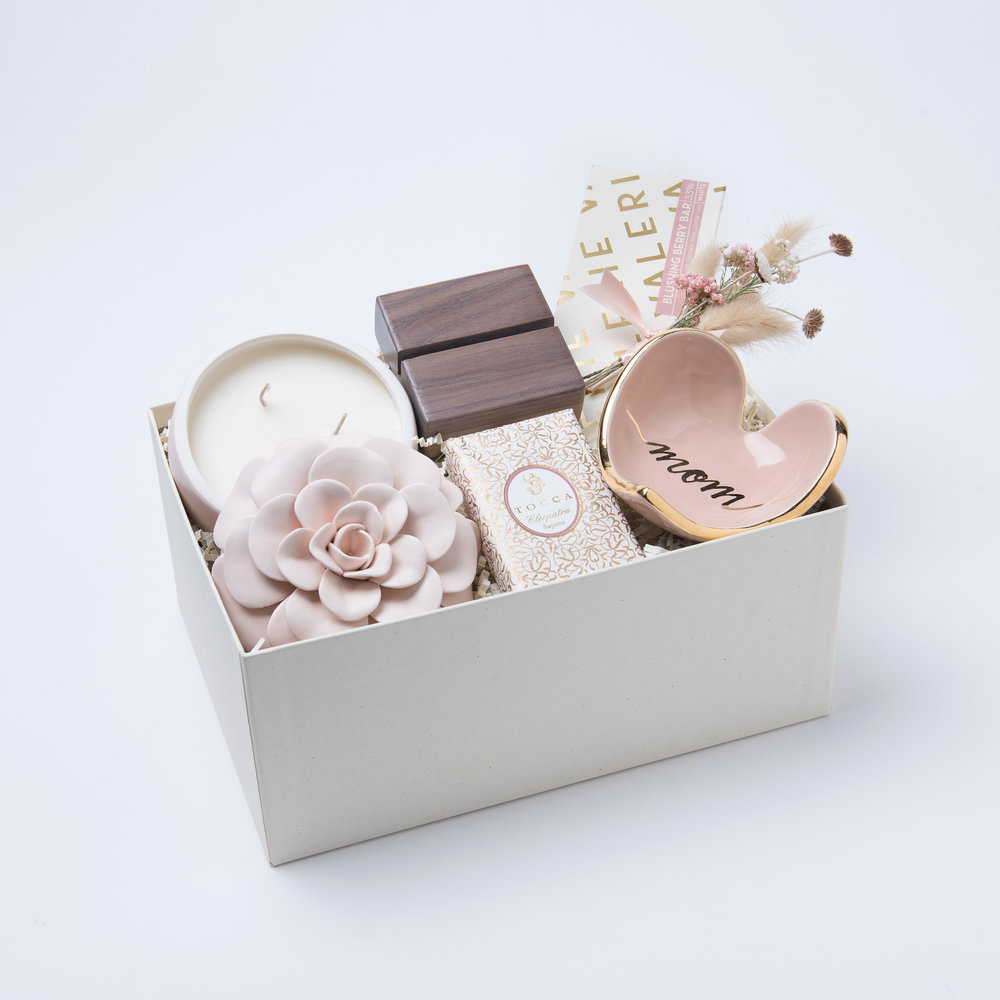 This beautifully curated box includes & A Gift For Mom u2014 Lauren Ashley Studio