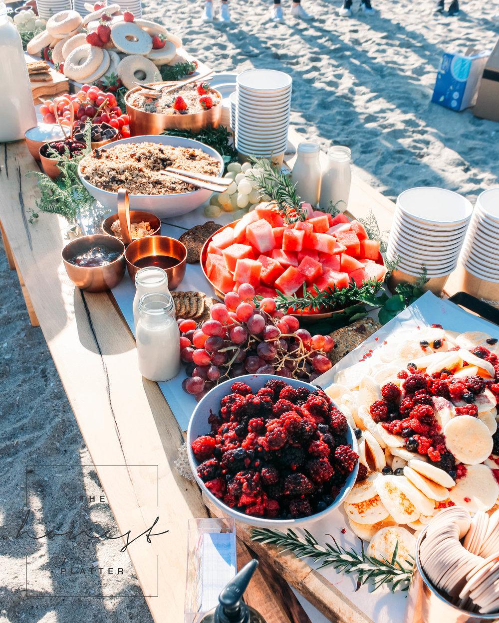 Breakast Grazing Table   The Honest Platter   Bay of Plenty, NZ