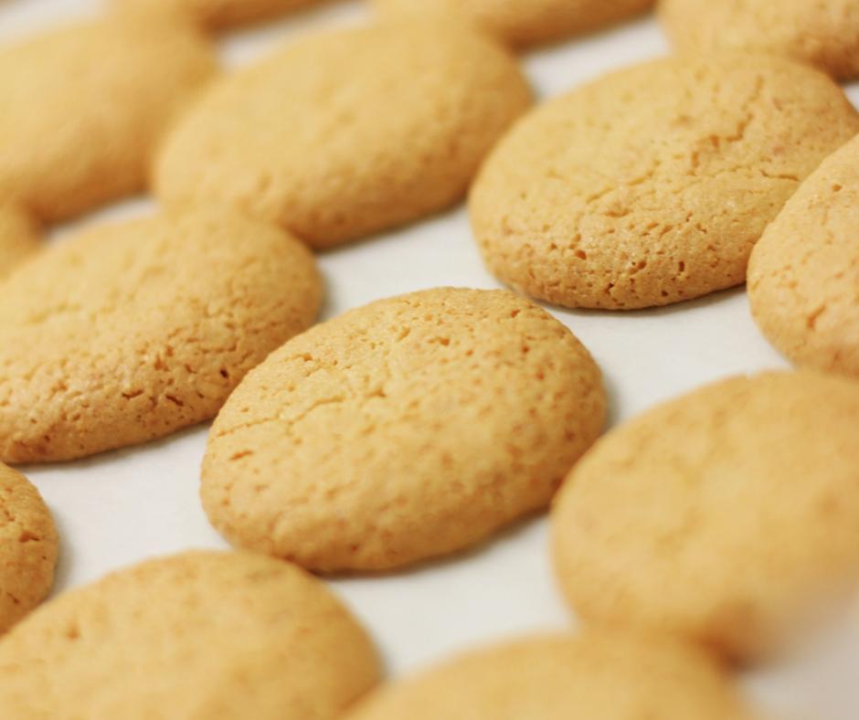 kokosnøtt- og mandelcookies
