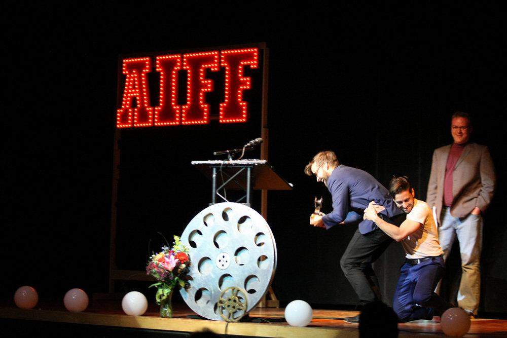 AIFF awards wrestle.JPG