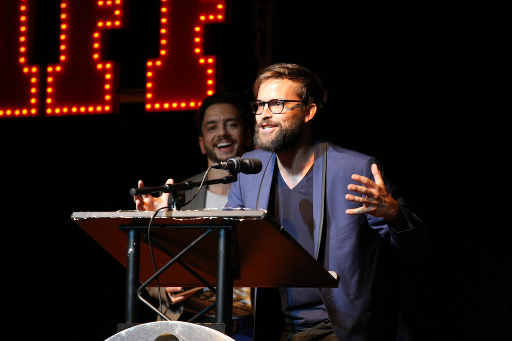 AIFF awards laugh.JPG