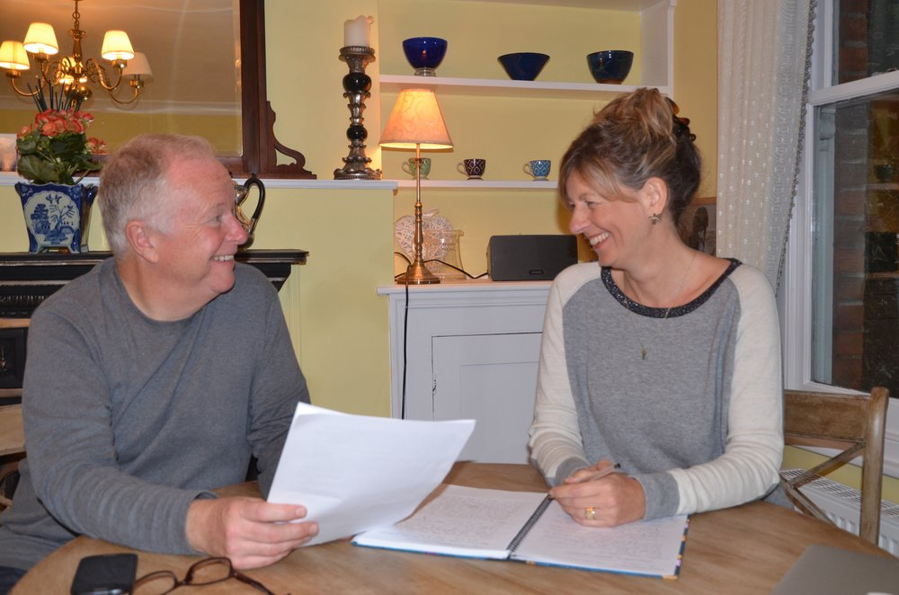 Brian and Alison have gone from pen pals to winners of the Point of Light award with their charity, From me to you.