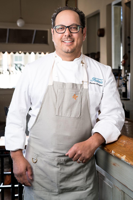 AARON BURGAU  Chef/Owner