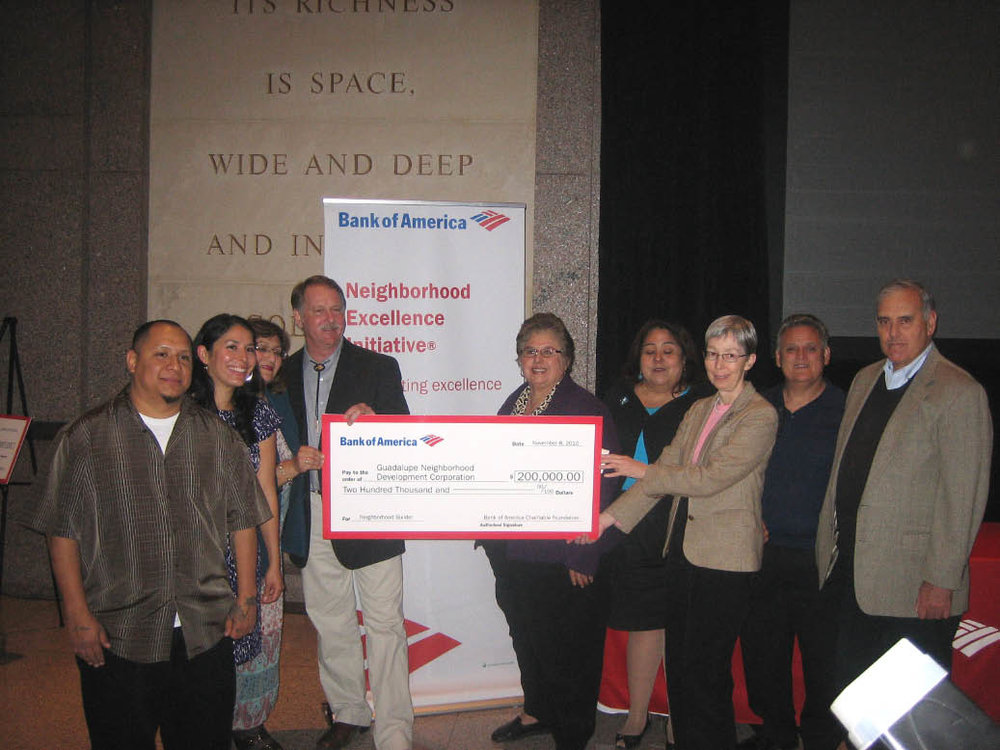 GNDC wins a Bank of America Neighborhood Builder grant!