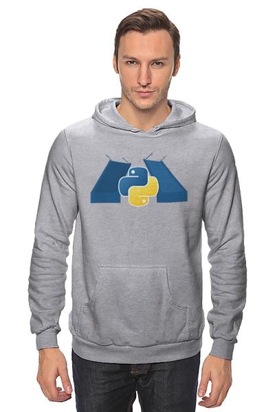 Толстовка с логотипом SPb Python
