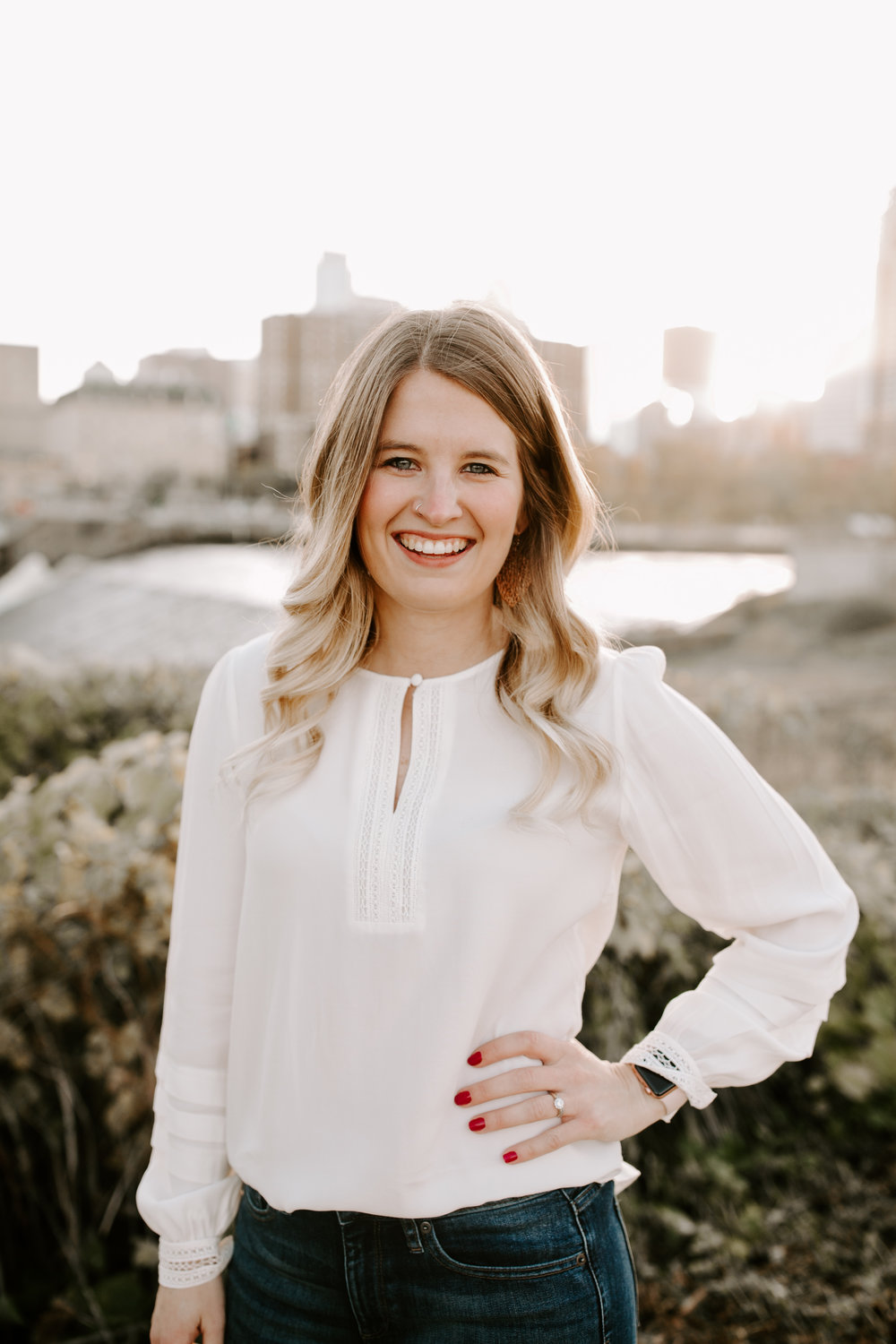 Hannah - Office Manager and OwnerHannah grew up in Dassel MN. It was in this small town that she met Dr. Ethan and they became high school sweethearts. She attended Minnesota State University, Mankato for undergrad and pursued a degree in Child Development and Family Studies. Following the completion of her degree she worked as a Family Educator for Scott, Carver and Dakota Counties. She has a passion for serving others, and is so excited to continue that passion at TOV Chiropractic.Hannah was introduced to chiropractic as a small child and always sought out chiropractic care as a first resort. She has seen great results being under Chiropractic care. Growing up, Hannah experienced many digestive issues on a regular basis, which found her seeking answers with no relief. Through neurologically based chiropractic care, she has been able to improve the function of her immune and digestive systems, and she no longer suffers!Hannah is the co-owner and office manager at TOV Chiropractic. She is so excited to be back in the Mankato area and looks forward to serving the community through neurologically based Chiropractic care. When Hannah is not in the office she enjoys spending time with family, being outside, and a good cup of coffee.