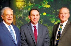 From left, Highlands Hospital consultant Nick Jacobs, Highlands CEO John Andursky and Dr. David Borgstrom, General Surgery Program Director at West Virginia University School of Medicine, spoke recently about the importance of offering quality surgical care at a community hospital such as Highlands.