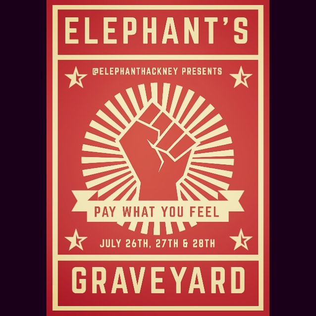 Comrades, this Thursday, Friday and Saturday, the Elephant Hackney Kitchen & Elephant's Graveyard are testing out some new stuff. We want your feedback and you vote with your wallets... . . . . . . . #useitorloseit #paywhatyoufeel #testkitchen #supportlocal #supportlocalbusiness #votewithyourwallet #eastlondonfood #eastlondon #london