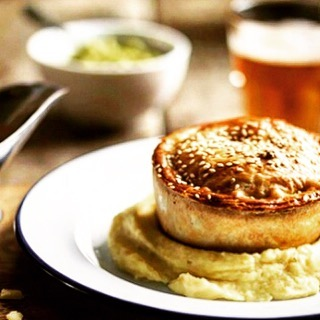 Pie Night @elephanthackney, courtesy of @cook.m3n 🥧  We've got vegan 🌱 meat 🥩 and fish 🐟 options, everyone's a winner... #pienight #pie #pie&pint