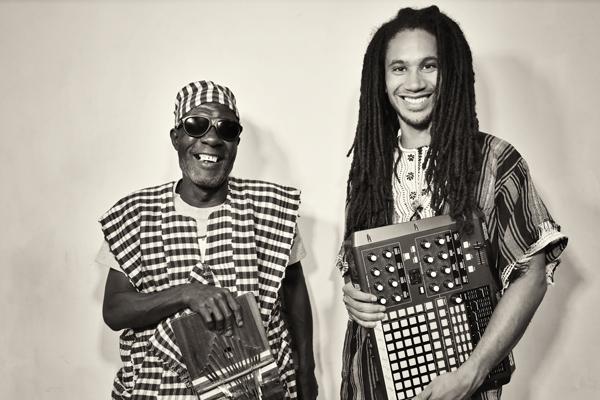 Sorie Kondi and Boima Tucker