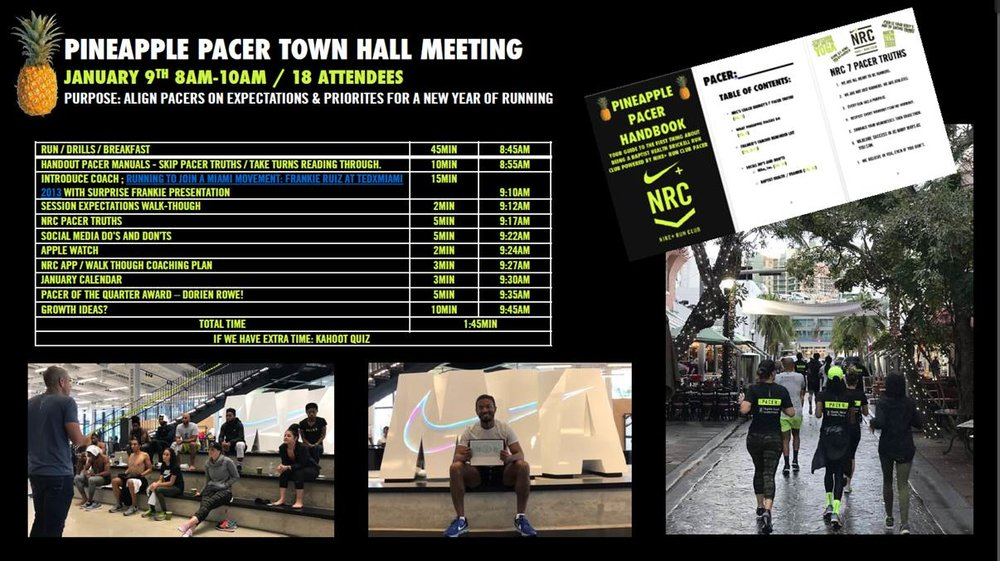 Pineapple Pacer Town Hall