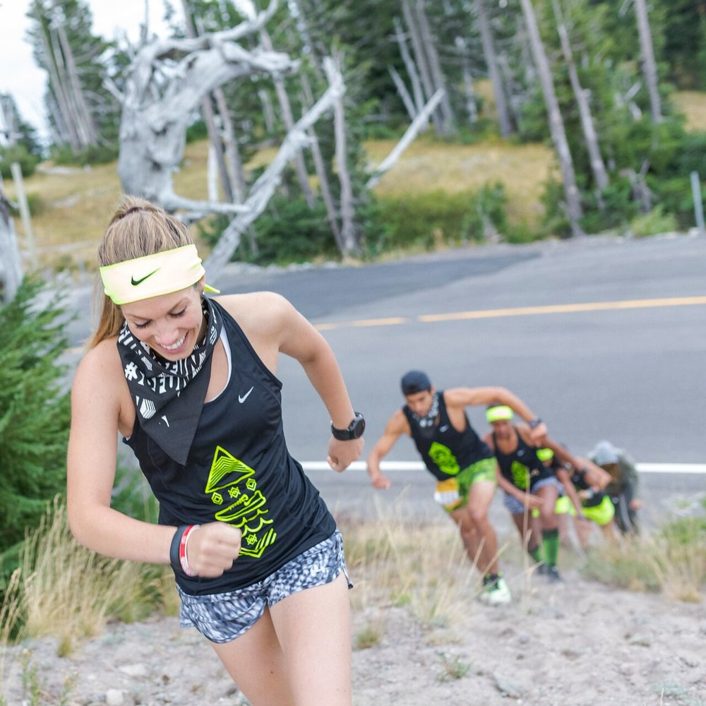 """HOOD TO COAST - Was 1 in 4 pacers in the US selected to Co-Captian an NRC Hood to Coast team. I co-captained team """"So Fun"""" alongside Coach Bennett."""