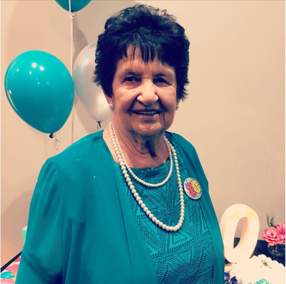 Granny Mave on her birthday