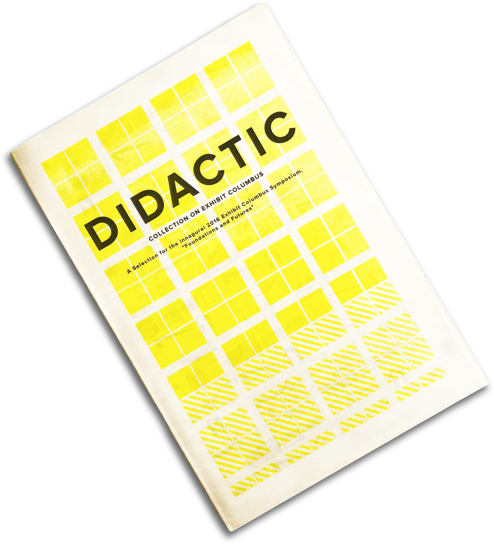 Didactic III: Exhibit Columbus - View more here ➝