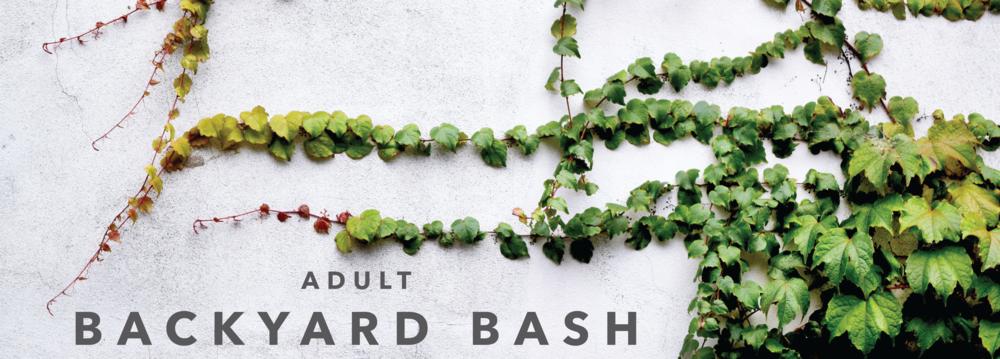 Adult Backyard Bash Branch Of Hope