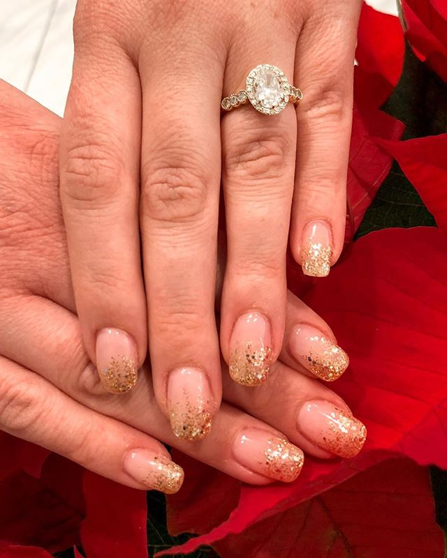 ✨ Bringing in the New Year with some bling! #ModishNailSpa