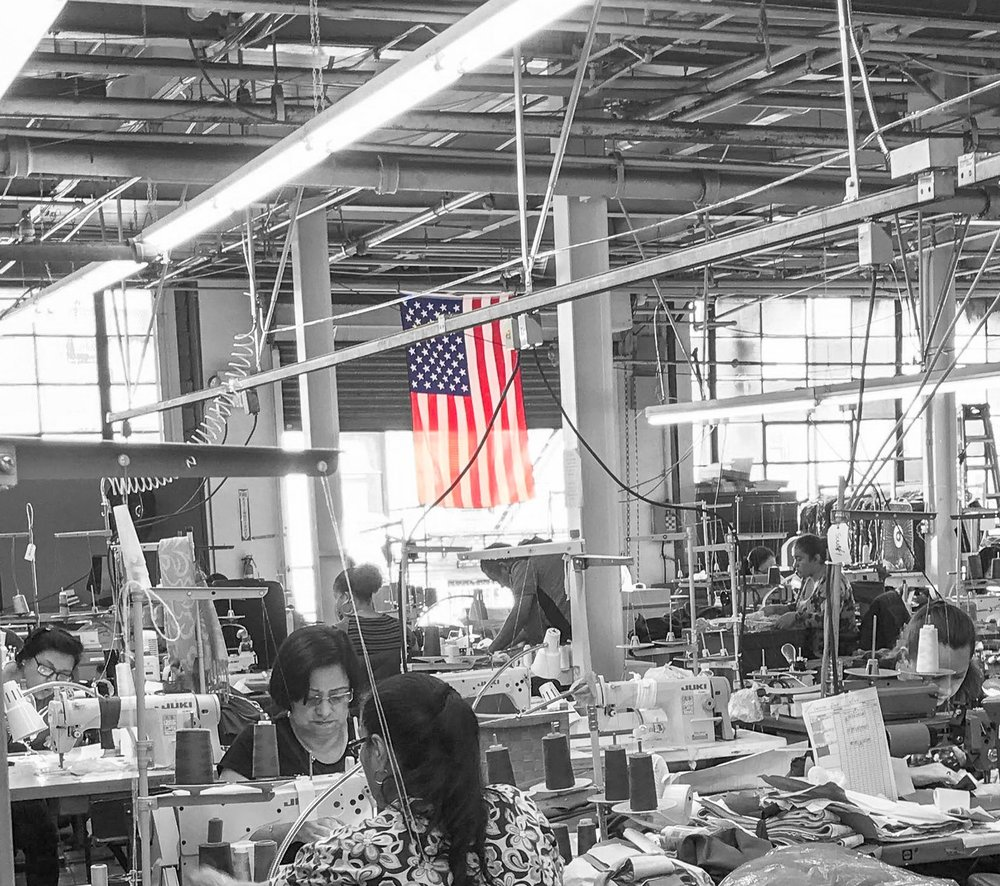 From Soil to Sewn - We are grateful to have such an amazing team of people we work with. We made a choice to give back to our US economy and work with people close to home instead of cheaper costs and larger profits offshore.Designed in NY. Handmade in New Jersey. American made through and through.