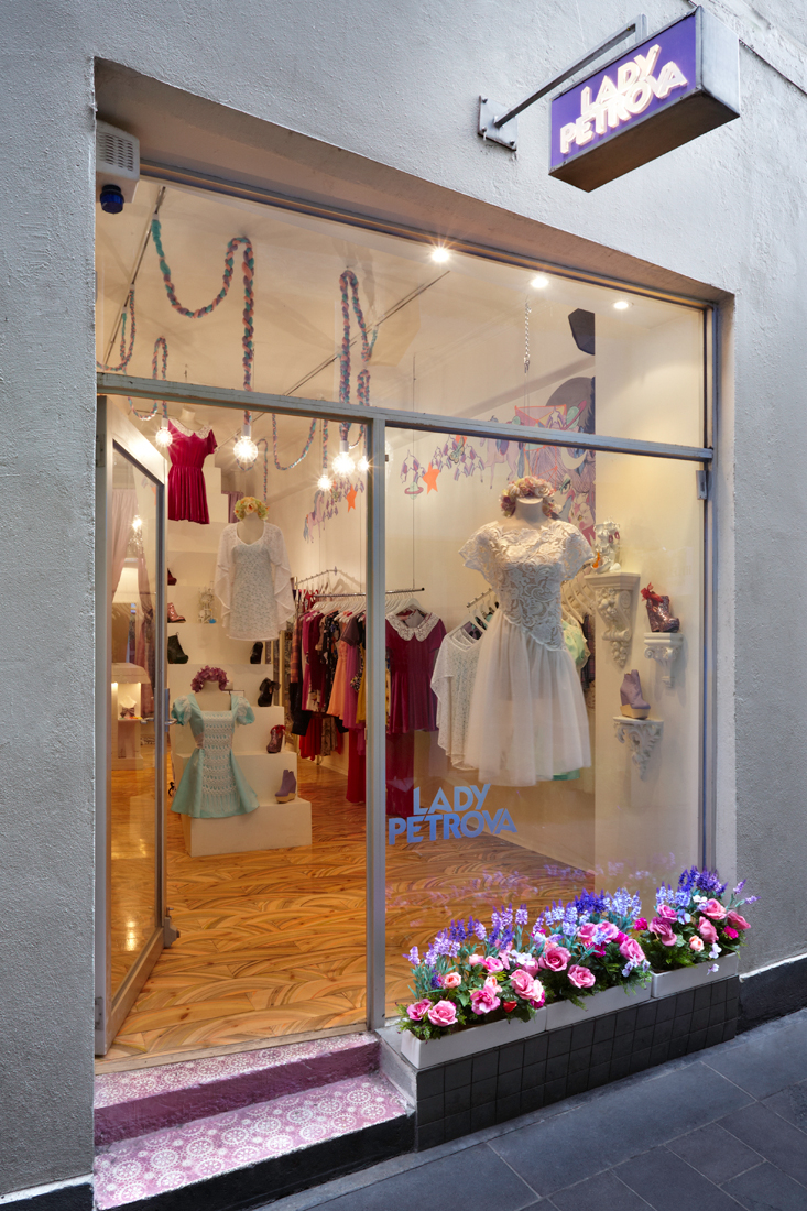 Lady Petrova Boutique, 237 Flinders Lane Image via Dear Gladys (another amazing Melbourne retailer)