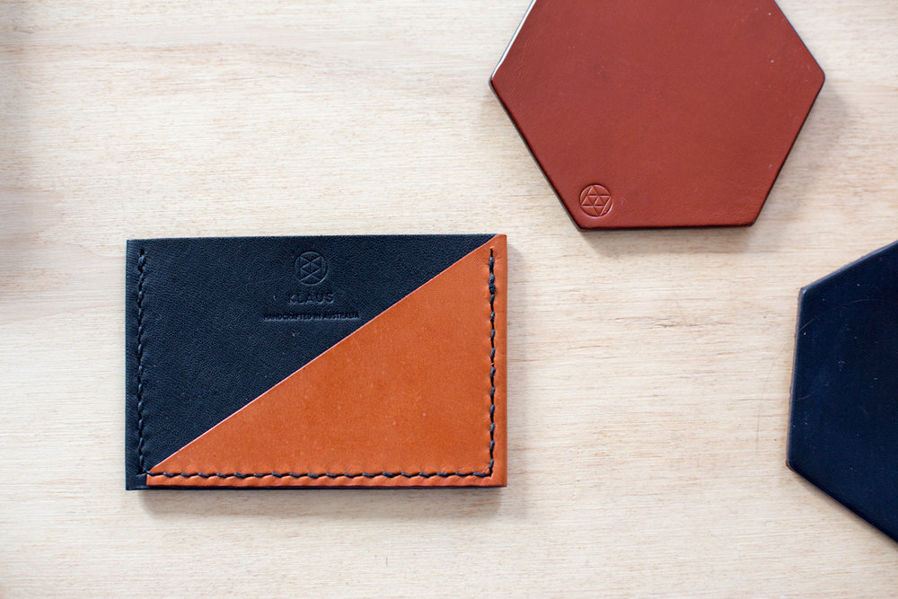 Wallet and Coasters - Image credit Katie Goodwin