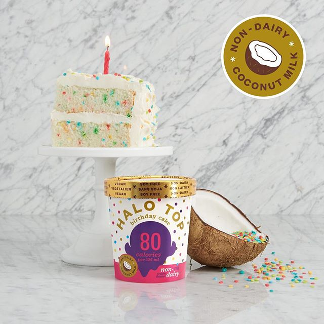 Now you can have your cake and eat it too. Non-Dairy Birthday Cake is now available!
