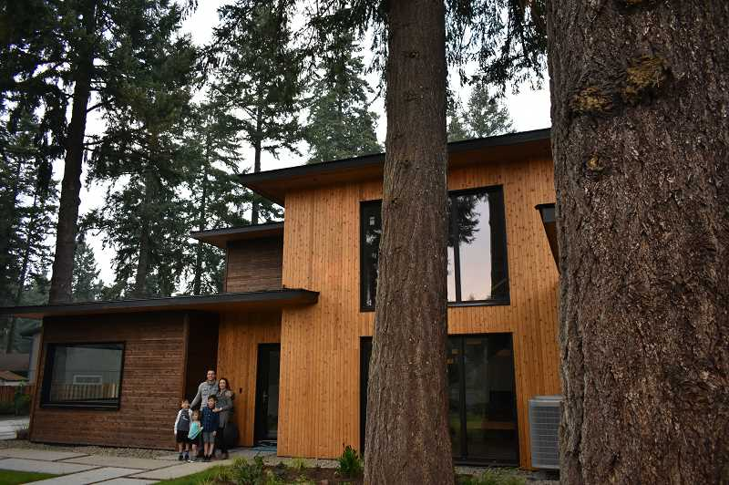 After two years of dreaming, designing and building, the Antonini family now lives in the first zero-energy home in Lake Oswego.