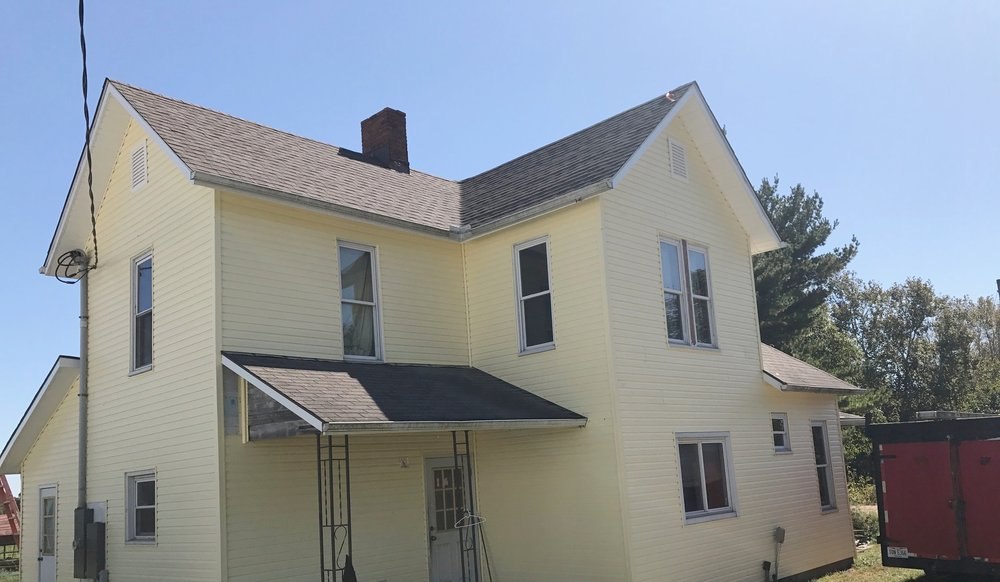 Siding - We provide both Residential and Commercial Siding Services throughout Central-Ohio and the surrounding Areas. Contact one of Our Dedicated Team Members today to Request a Free Quote.