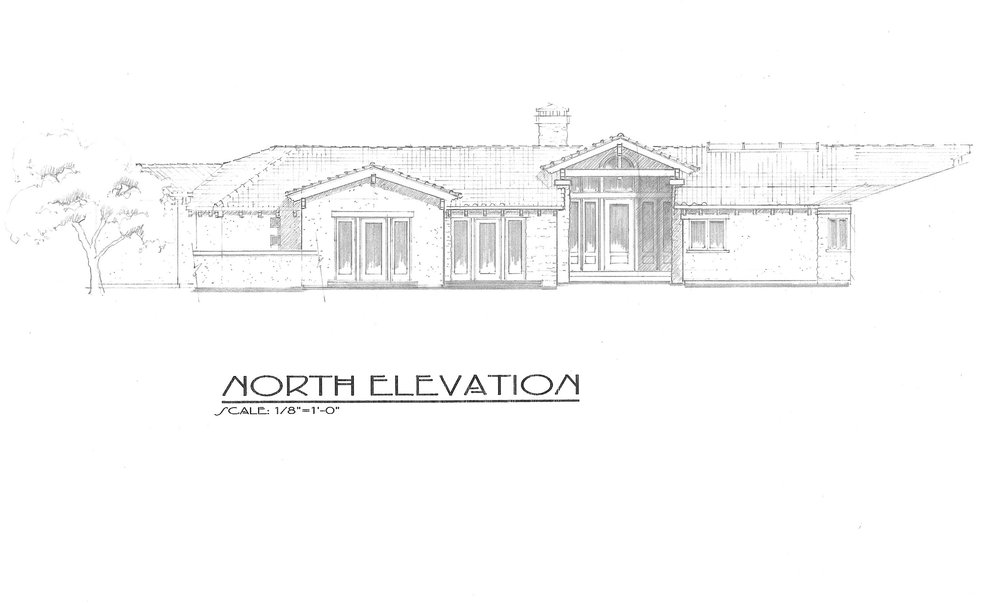 New Residence (proposed) - 4,640 square feet