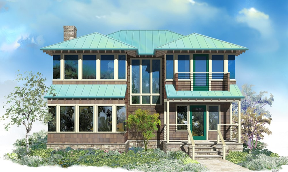 New Residence (proposed) - 1,540 square feet