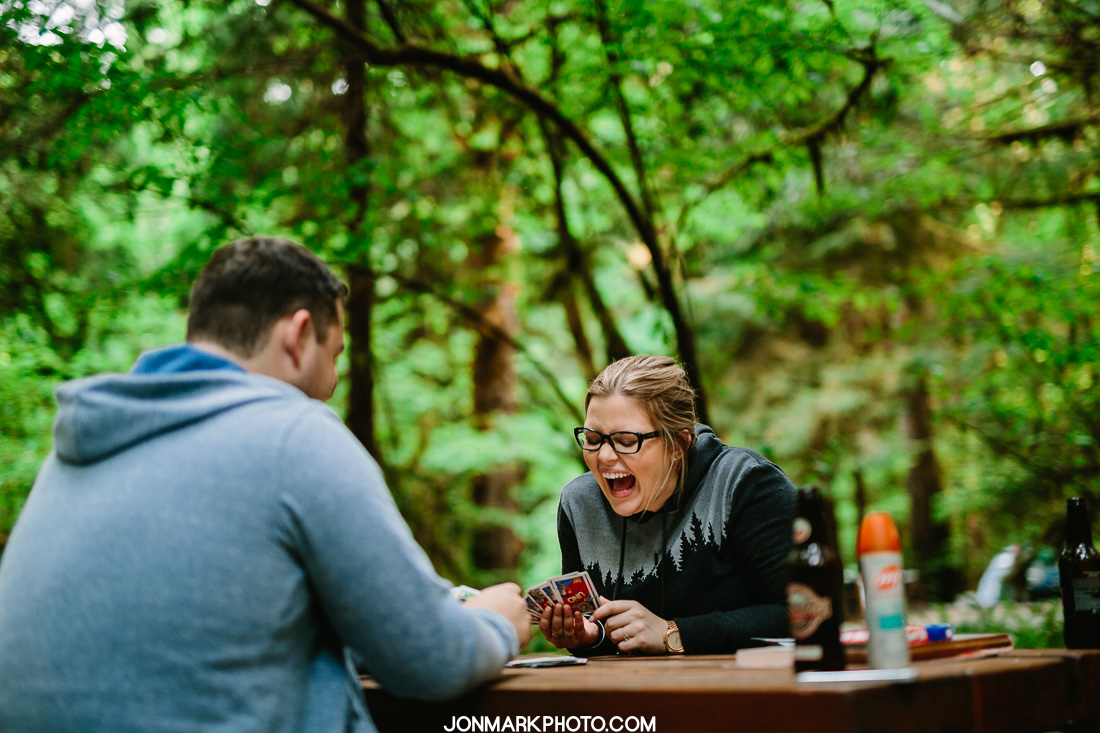 Victoria BC Wedding Photography - Jon-Mark Photography- Goldstream Camping Engagement