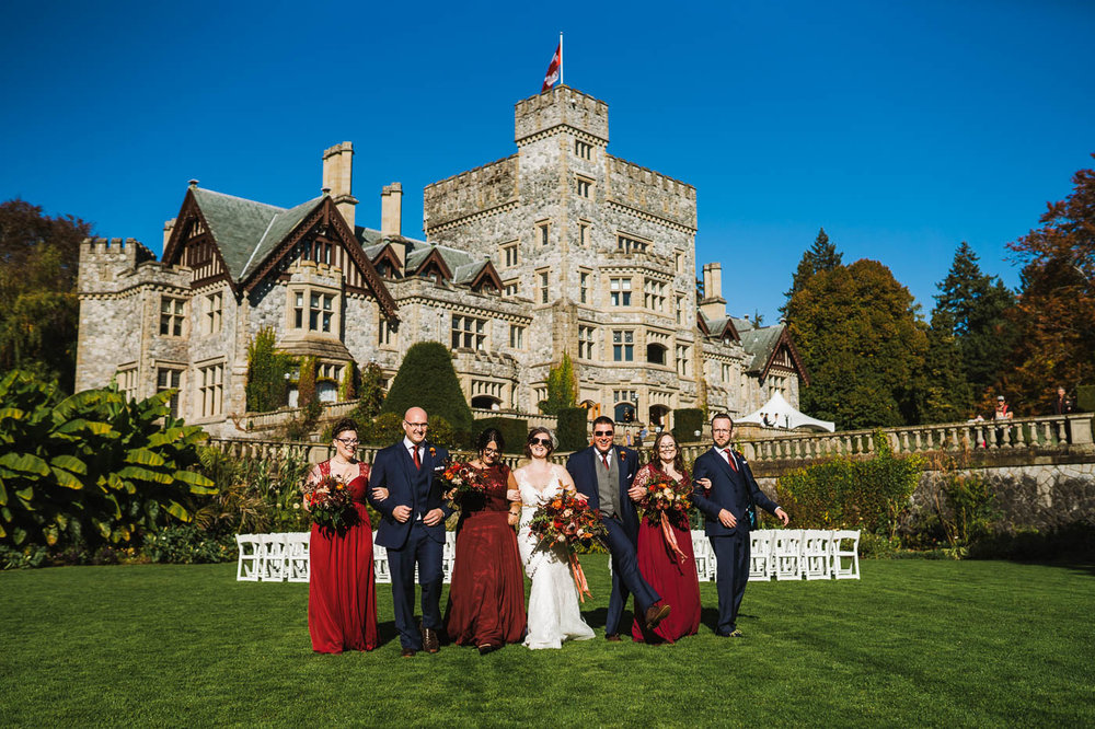 Victoria BC Wedding Photography - Hatley Castle Wedding Photography - Bear Mountain Wedding Photography