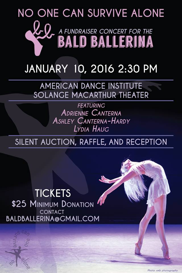 No One Can Survive Alone: Fundraiser Concert for Bald Ballerina