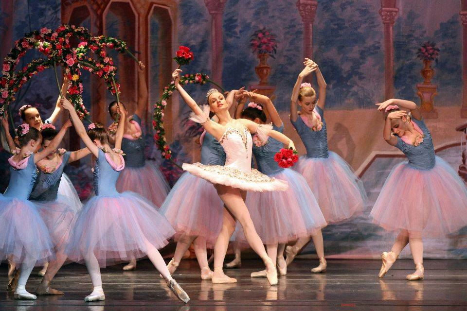 Performing in 2012 with L'etoile/ The Russian Ballet Academy of Maryland