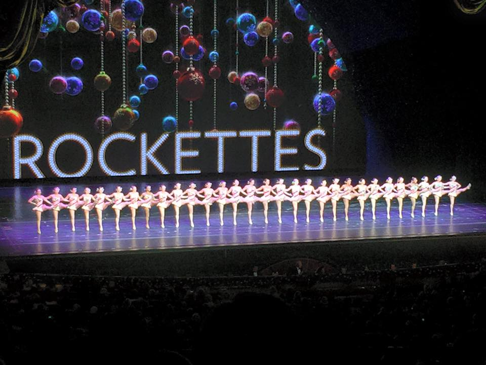 The beautiful Rockettes