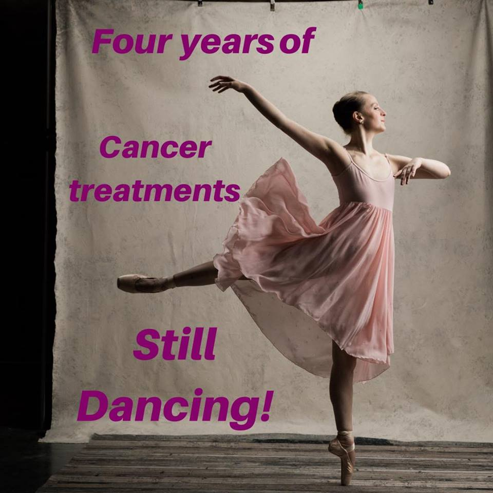 4th Cancerversary Bald Ballerina Breast Cancer Cancer.jpg