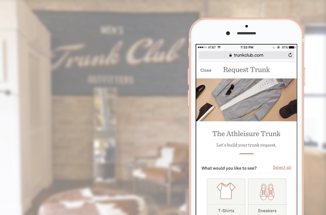 Trunk Club, Featured Trunks - Leveraging user research to improve the customer-facing trunk request funnel within Trunk Club's featured trunks marketing program.Read more