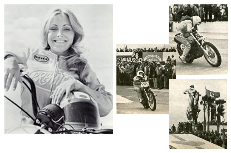 Worn by industry trailblazers - The Flying Angel - Debbie Lawler, the world's first motorcycle stuntwoman