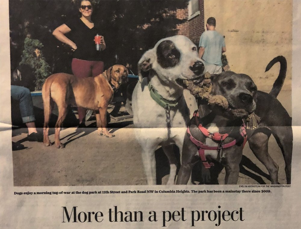 Read the    Washington Post article    about our efforts
