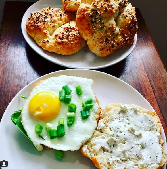 5 Ingredient Bagel Breakfast Sandwich