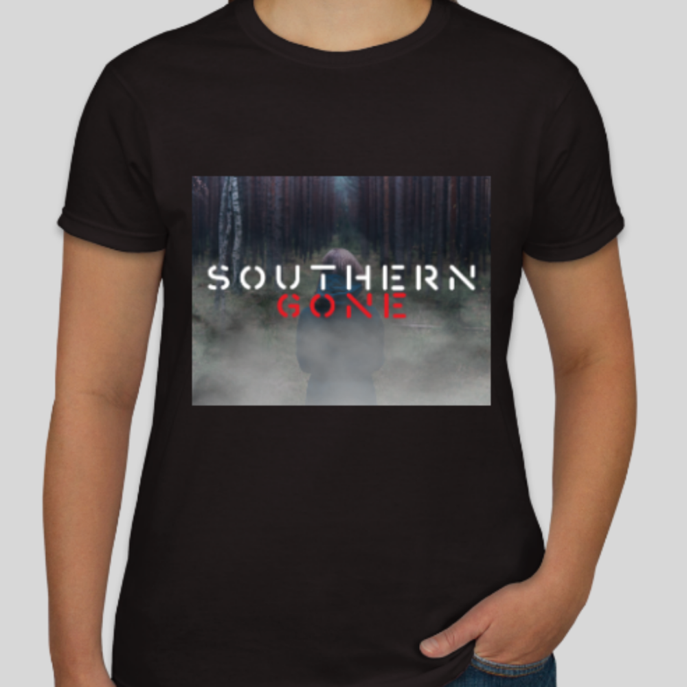 Women's T-shirt: available in White, Gray, or Black.  $25 ( includes shipping)