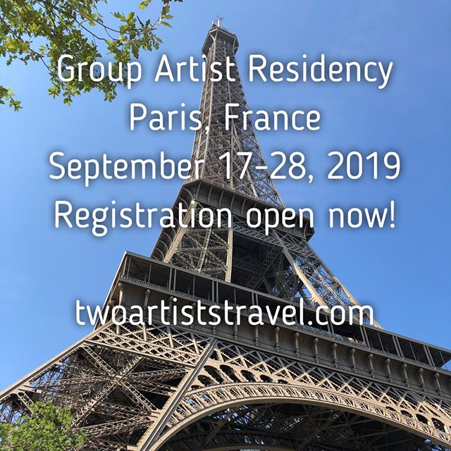 https://www.twoartiststravel.com/paris-france https://www.twoartiststravel.com  @susanstoverart @amandajolley #twoartiststravel #artandtravel #artandculture #travelwithus #artisttravel #inspiredtravels  #adventureawaits #localartisans  #culturalimmersion #artists #paris #france #artistresidency #architecture #museums #workingartist