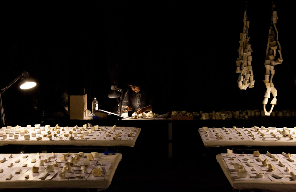 Bone Library, Sarah-Jane Norman. Next Wave Festival 2012. Photo Pia Johnson. Photo 1..jpg