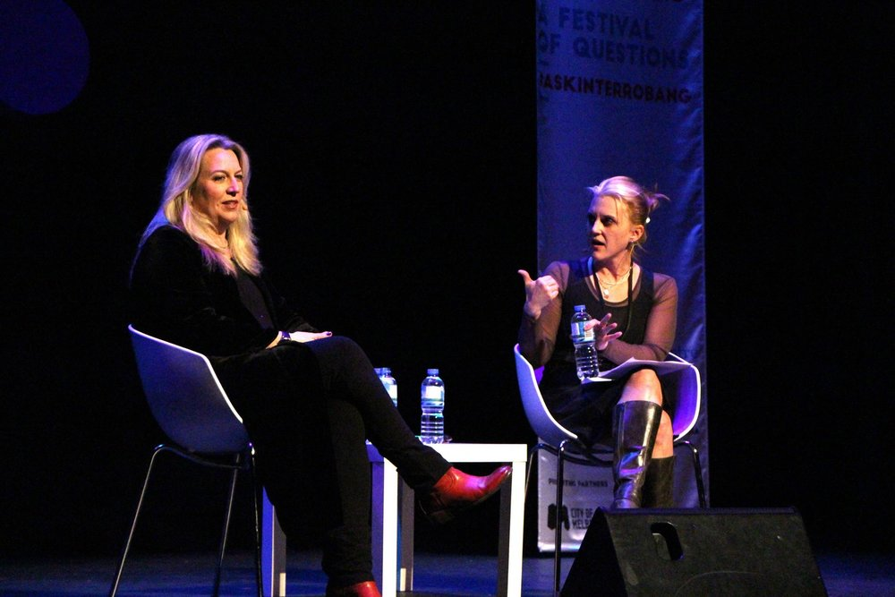 Cheryl Strayed and Meghan Daum