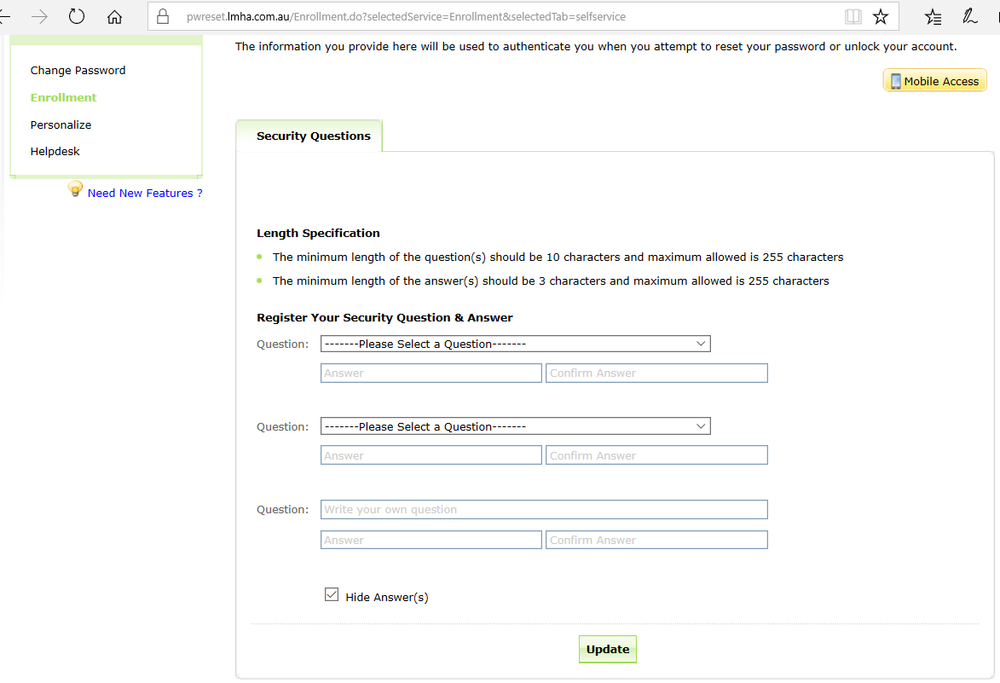 AD self-service password registration page.png