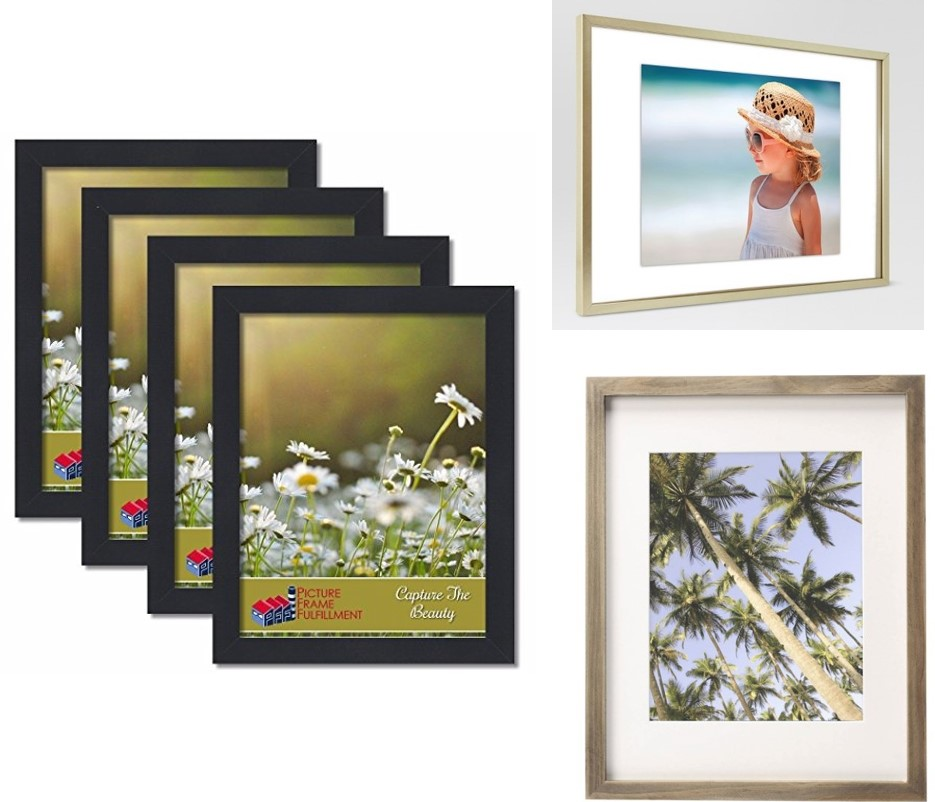 Affordable, large-scale picture frames for gallery walls.