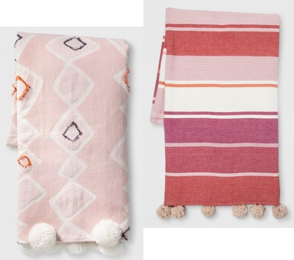 Target Opalhouse Throw Blankets.