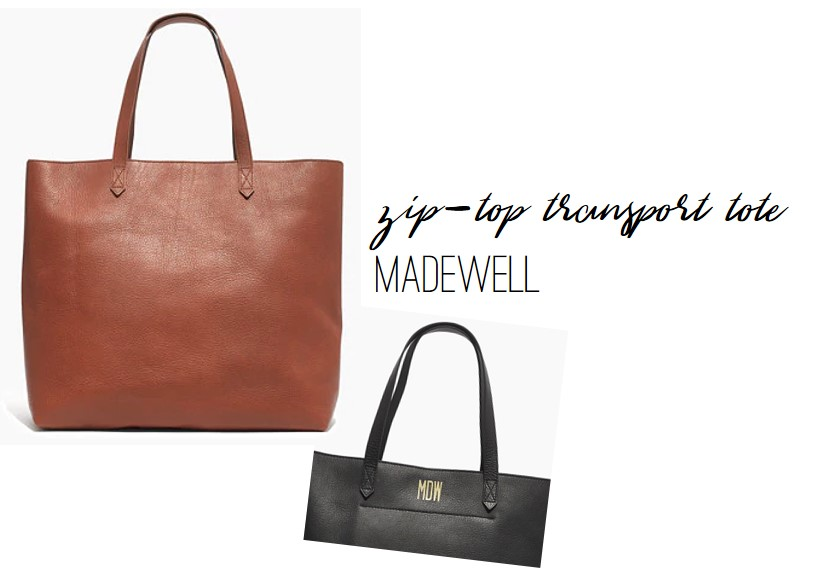 FR Faves: Madewell Zip-Top Transport Tote, Farmhouse Redefined