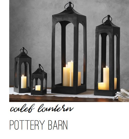 Pottery Barn Caleb Lantern - Farmhouse Redefined