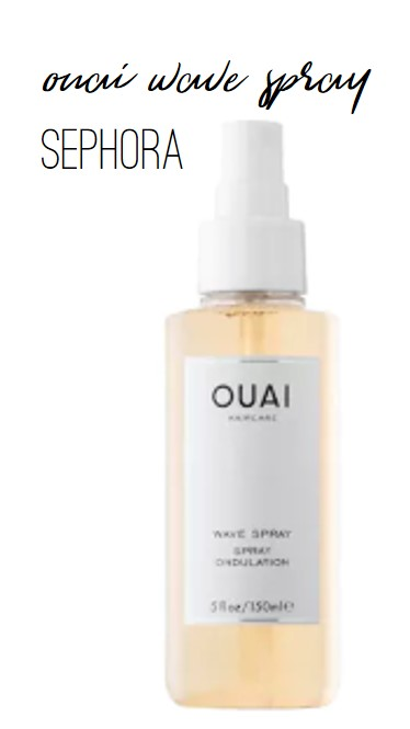 FR Faves Ouai Wave Spray from Sephora - Farmhouse Redefined