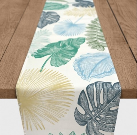 Colorful Palms Table Runner from Kirkland's.